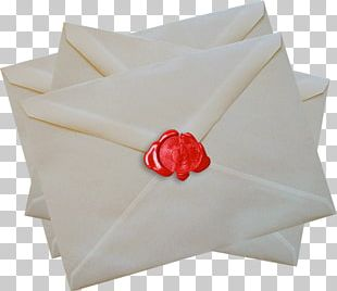 Paper Red Envelope Mail Letter PNG