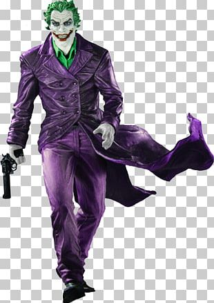Joker Batman Black And White Statue DC Comics PNG