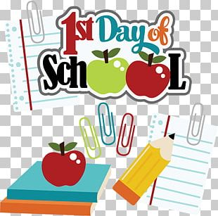 Student First Day Of School PNG