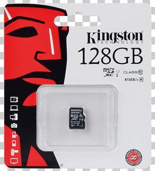 Flash Memory Cards Secure Digital MicroSD USB Flash Drives Kingston Technology PNG