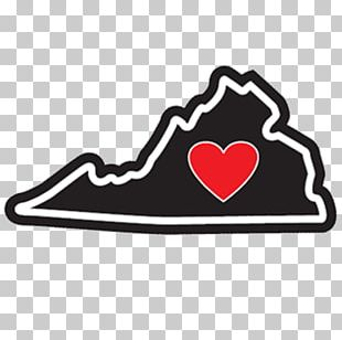 Heart Sticker Virginia Is For Lovers The Jerky Shoppe Dayton Market PNG