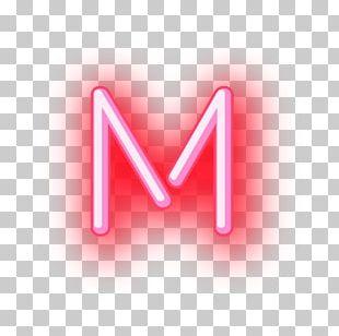 Neon Letterhead Font PNG