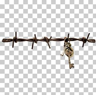 Barbed Wire Fence Wall Electricity PNG