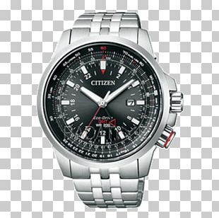 Eco-Drive Analog Watch Citizen Holdings Water Resistant Mark PNG