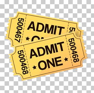Cinema Ticket Film PNG