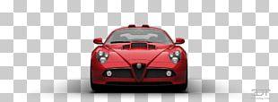 Alfa Romeo 8C Model Car Automotive Design PNG