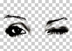 Eye Wink Drawing Blinking PNG