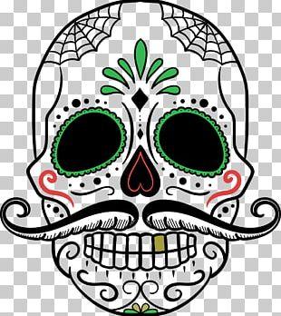 Calavera Day Of The Dead Human Skull Symbolism PNG