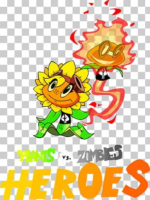 Plants Vs  Zombies Heroes Solar Flare Fan Art PNG, Clipart, Art