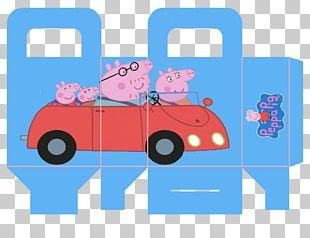 George Pig Car Party Granny Pig PNG