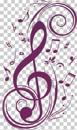Musical Note Wall Decal Mural Clef PNG