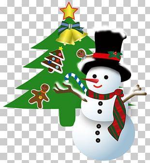 Santa Claus Snowman Christmas Ornament Christmas Tree PNG