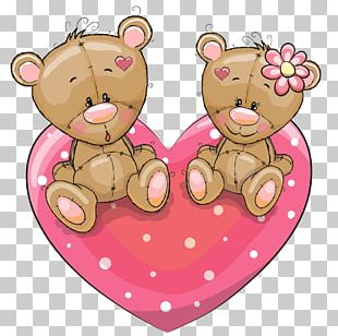 Cartoon Love Illustration PNG