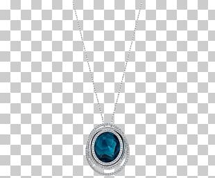Locket Necklace Body Piercing Jewellery Turquoise PNG