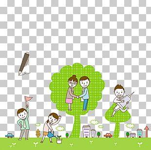 Schoolyard Illustration PNG