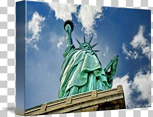 Statue Of Liberty Gallery Wrap Canvas Printmaking PNG