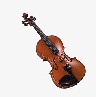 Brown Violin PNG