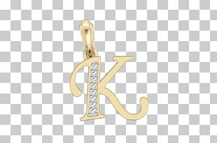 Charms & Pendants Earring Jewellery Alphabet Gold PNG