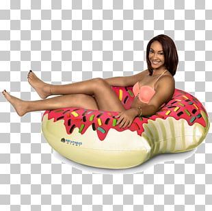 Donuts Inflatable Swimming Float Swim Ring Frosting & Icing PNG
