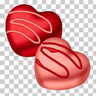 Valentine's Day Heart Candy PNG