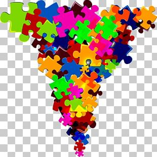 Jigsaw Puzzle Rubiks Cube Poster PNG