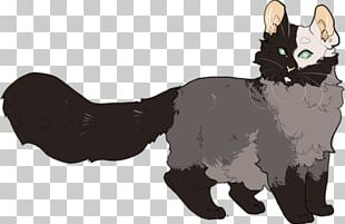 Manx Cat Whiskers Kitten Black Cat Domestic Short-haired Cat PNG