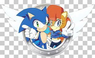 Sonic The Hedgehog Princess Sally Acorn Amy Rose Fan Art Drawing PNG