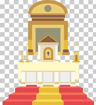 Altar In The Catholic Church Illustration PNG