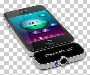 Smartphone Infrared Thermometers Temperature PNG