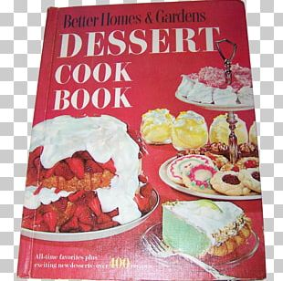 New Cook Book New Junior Cookbook Homes And Gardens Cookbook Dessert CookBook Better Homes And Gardens Dessert Cook Book PNG