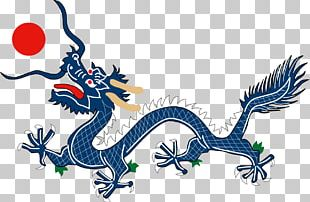 Flag Of The Qing Dynasty First Sino-Japanese War Manchuria Chinese Dragon PNG