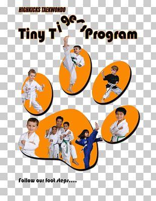Tiny Tiger Highkicks Taekwondo Karate Martial Arts PNG