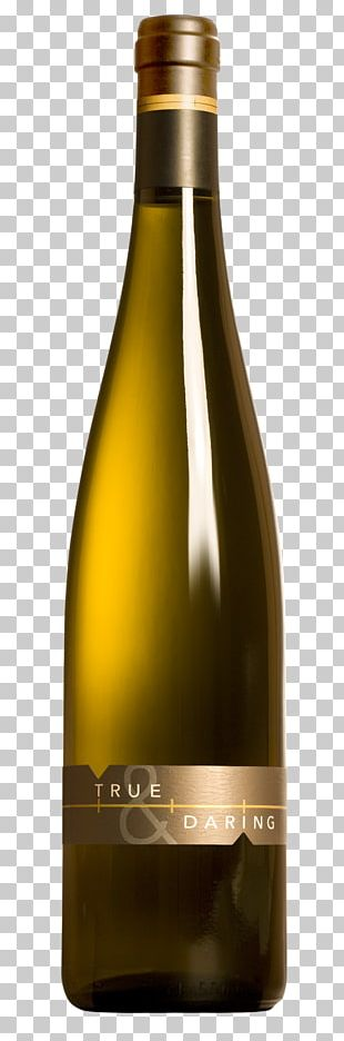 White Wine Champagne Bottle Glass PNG