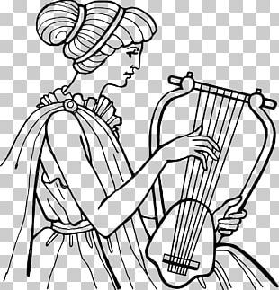 Ancient Greece Ancient Music Lyre Greek Musical Instruments PNG