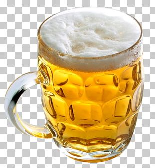 Lager Beer Glasses Wine PNG