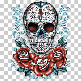 Calavera Day Of The Dead T-shirt Skull Clothing PNG