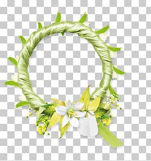 Floral Design Frames Flower Wreath PNG