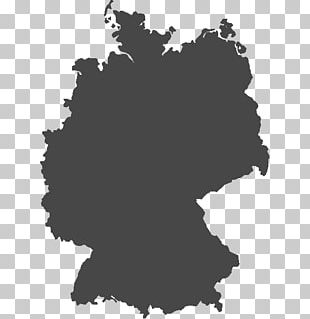Flag Of Germany Silhouette PNG