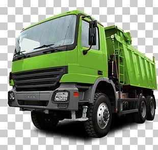 Dump Truck Roll-off Dumper Garbage Truck PNG