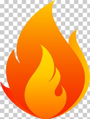 Red Flowing Flames PNG
