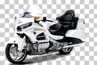 Car Honda Gold Wing GL1800 Motorcycle PNG