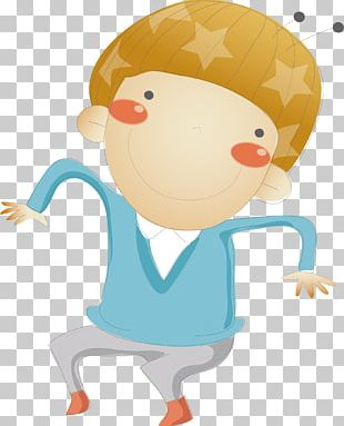 Child Cartoon Euclidean Illustration PNG