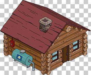 Log Cabin House Hut Shed Wood PNG
