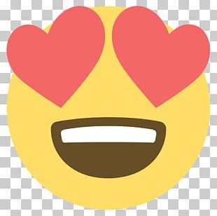 Emoji Eye Heart Smiley PNG
