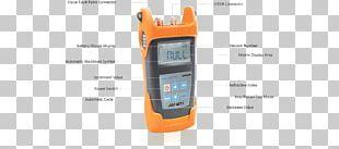 Optical Fiber Optics Optical Time-domain Reflectometer Optical Power Meter PNG