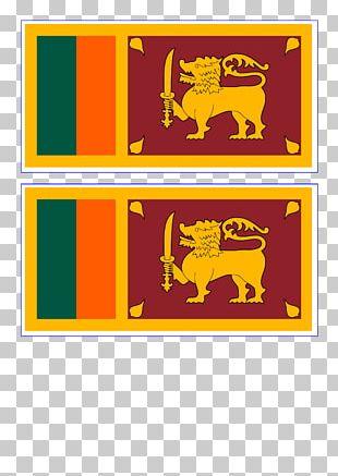 Flag Of Sri Lanka National Flag Palk Strait PNG