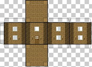 Minecraft: Pocket Edition Paper Model House PNG