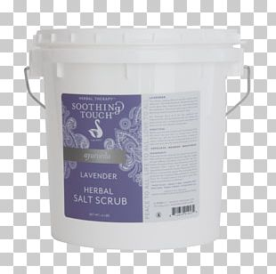Green Tea Soothing Touch Salt Lavender PNG
