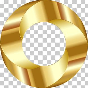Metal Gold Screw PNG