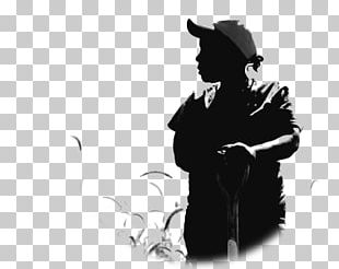 Silhouette Farmer Agriculture PNG